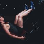 istruttrice fitness addominali obliqui