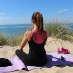 Respirazione yogica al mare