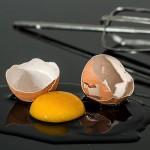 Maschera per capelli all'uovo