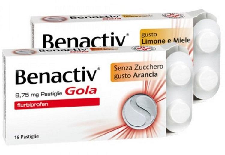 Benactiv Gola contro le infiammazioni del cavo orale