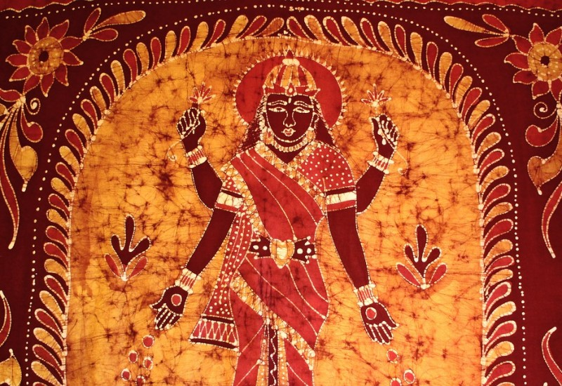 Lakshmi, la dea dell'abbondanza indiana