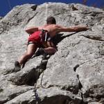 Allenamento per free climbing