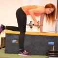 Esercizi dorsali con rematore