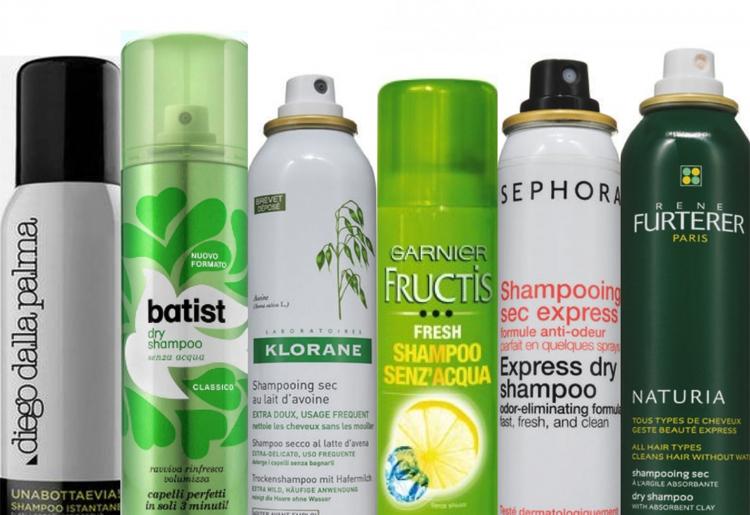 Shampoo secco: tipologie e utilizzo