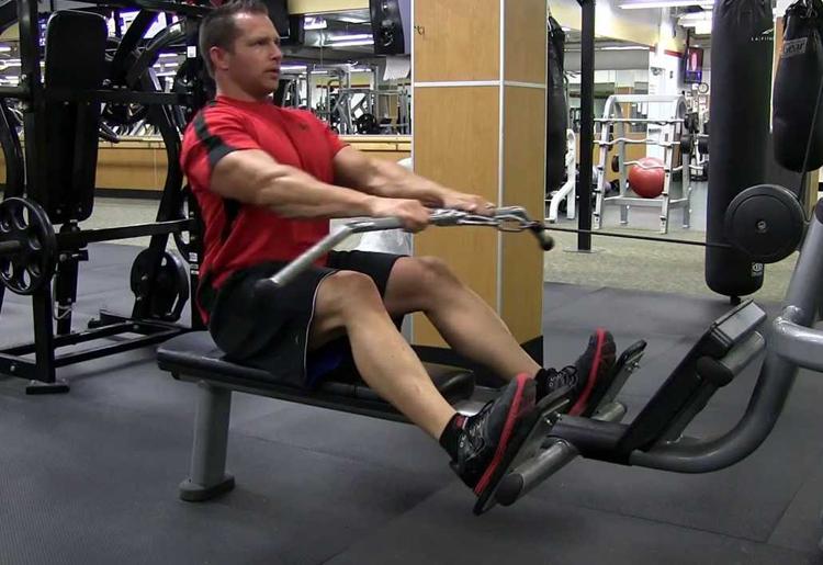 Il Low Row: esercizio fitness